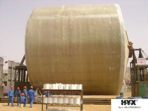Fiber Glass Reinforced Plastic Large Tank on Site pictures & photos