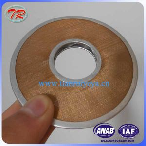 Copper Mesh Filter Disc Manufacturer for Nvd48A2u Engine 90mmx31mm pictures & photos