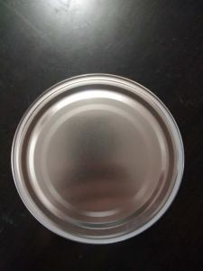 300# 72.6mm Tinplate Bottom Lids for Can pictures & photos