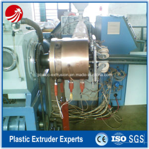 Corrugated Optic Duct (COD) Pipe Tube Extrusion Extruder Making Machine pictures & photos
