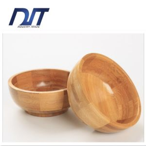 100% Natural Fall Resistant Chinldren Bamboo Salad Bowl
