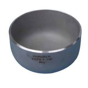 Stainless Steel Butt Welding Pipe Fitting Cap with SGS