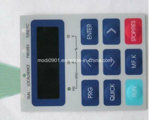 High Quality Printing Overlay Touch Panel Switch