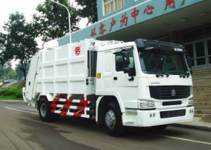 Sinotruk Rear-Loading Compressed Refuse Garbage Truck Collecter (10m3/ 10000L)
