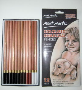 Bj-5803 Coloured Charcoal Pencil