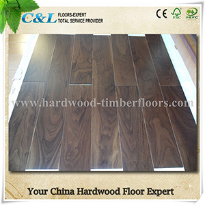 Stained Color American Walnut Wood Flooring