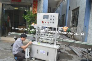 Automatic Hot Sealing Machine for Bottles and Jars pictures & photos