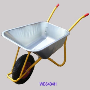 High Quality Galvanized Wheel Barrow (WB6404H) pictures & photos