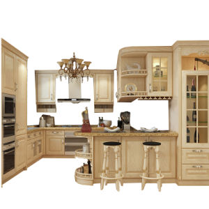 China Kitchen Cabinet Factory Supplier For Amerian Standard Style Kitchen Cabinet