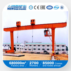 Single Girder Above Trolley Gantry Crane (L) pictures & photos