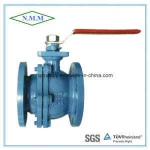 Cast Iron 2PC Flange End Ball Valve pictures & photos