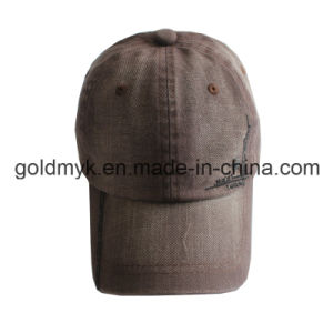 Custom Logo Embroidery Unstructed Low Profile Cap (GKA01-A00096)