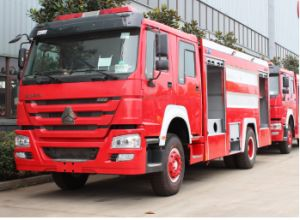 Sinotruk HOWO 6X4 Rhd/LHD Large Military Water Fire Truck pictures & photos