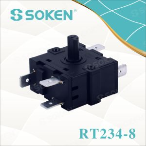 High-Temperature Rotary Switch with 4 Position (RT234-8) pictures & photos