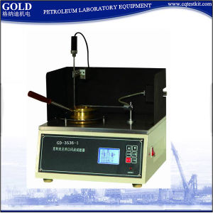 Gd-3536-1 Semi-Auto Digital Electric Crude Oil ASTM D92 Flash Point Test Kit pictures & photos