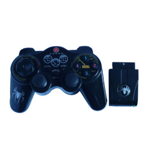 2 in 1 Wireless Double Shock Gamepad for PS2/PC