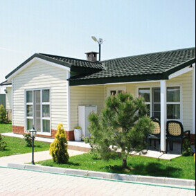 Earthquake Proof Light Steel Prefab Houses for Island Countries Area pictures & photos