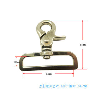 Zinc-Alloy Spring Buckle, Snap Hook pictures & photos