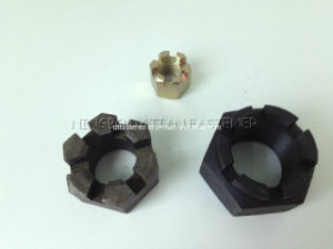 Hexagon Slotted Nuts (DIN935)