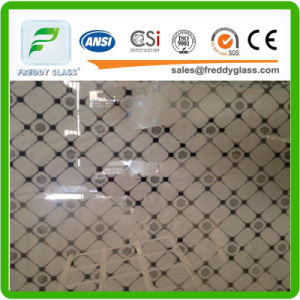 4mm Patterned Mirror/Rolled Mirror/Figured Mirror/Tinted Stained Mirror pictures & photos