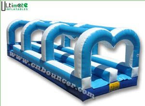 Best Seller Double Lanes Inflatable Slip and Slide
