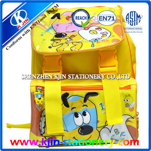 Kjin Stationery Double Shoulder Waterproof School Bag