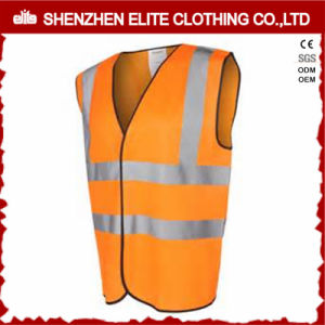 Wholesale Custom Made Orange Reflective Safety Work Vest (ELTHVVI-3) pictures & photos