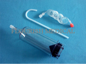 CT High Pressure Angiography Injector Syringe with CE Certificate