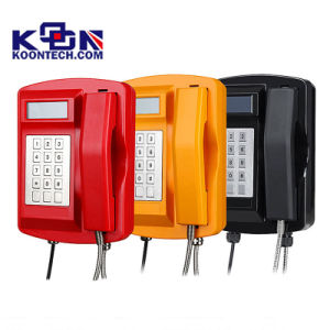Moisture Proof Telephone Magnetic Reed Hook-Switch Industrial Telephone Knsp-18 pictures & photos