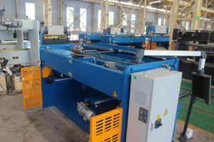 4x2500mm hydraulic swing beam shear pictures & photos