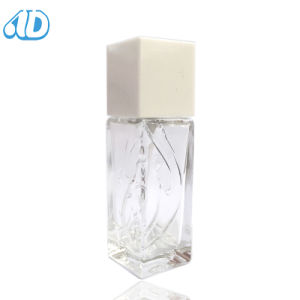 Square Transparent Spray Perfume Glass Bottle pictures & photos