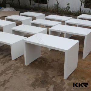 Royal White Acrylic Solid Surface Bar Counter Table pictures & photos