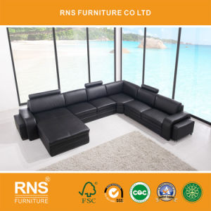 8050 Big Size Sectional Leather Sofa Set