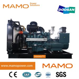 Super/ Silent Doosan 242kVA 220kw Prime 303kVA 275kw Standby Power Electric Diesel Genset Power Generator