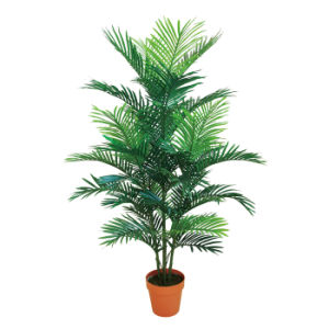 Artificial Mini Palm Tree Plants With Plastic Pot