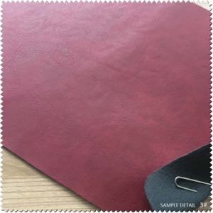 Bonded Leather&Synthetic Leather Durable PU Leather for Shoe (S442130) pictures & photos