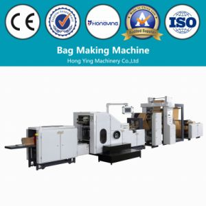 Paper Bag Making Machine with 2 Colors Inline pictures & photos