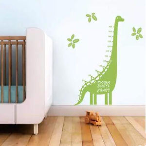 Removable PVC Decals Cartoon Tree Kids Growth Chart Height Measurement Wall Stickers for Kids Rooms Decor
