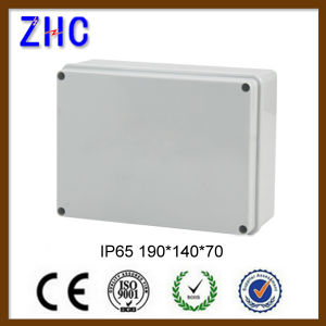 Waterproof Instrument Box 190*140*70mm Poly Carbonate Weatherproof DIN Rail Plastic Enclosure pictures & photos