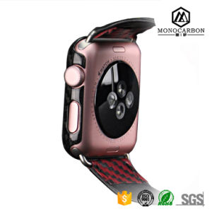 Competitive Price Delicate Handwork Carbon Fiber Watches Cover Compatible for Apple Watch pictures & photos