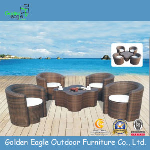 100% Hand Weaving Outdoor Leisure Sofa Set