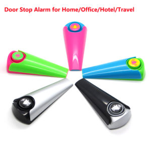 Portable Security Door Stop Alarm Home Office Travel Safety Wedge 120dB pictures & photos