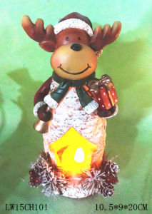 Christmas Candle Holder Home Decoration