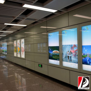 Public Promotion Poster Subway Station Light Box (LIT-06) pictures & photos