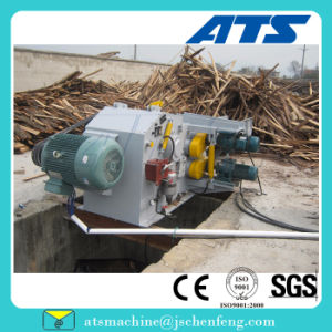 China Cheap Log Slicer Machine with Blades Inside pictures & photos