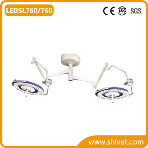 Veterinary LED Operating Surgical Light (LEDSL760/760) pictures & photos