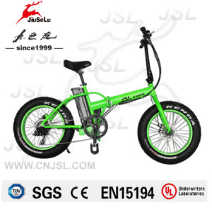 "Snowfield 20"" Aluminum Alloy Li-Lion Battery E-Bicycle With CE (JSL039K) pictures & photos"