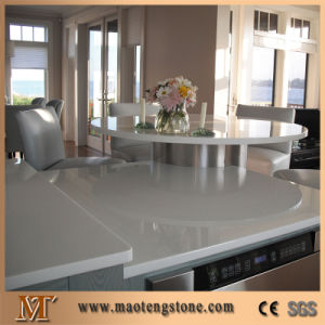 Hotel Restaurant Countertops Artificial Crystallized Glass Stone