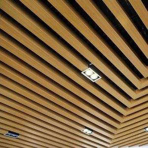Aluminum U-Shaped Baffle Linear Ceiling for Interior Design pictures & photos
