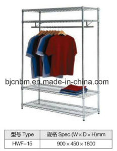 Carbon Steel Chrome Wire Shelve for Clothing pictures & photos